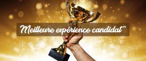 un trophée pour symboliser la meilleure expérience candidat due à un bon logiciel de gestion des candidatures