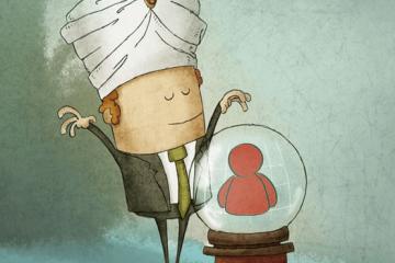 personnes en entretien d'embauche illustrant le recrutement predictif