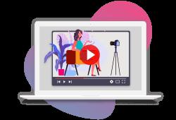 proposition de créations de video par le logiciel de recrutement softy